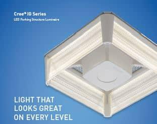 CREE IG Series LED Parking Garage Fixture
