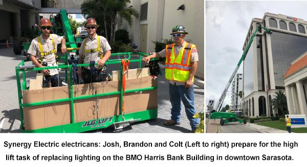 Electricians Sarasota Florida - Synergy Electric and Lighting